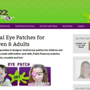 Patch Pizazz Quallity Eye Patches for Kids and Adults
