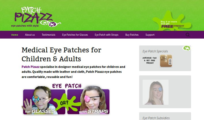 Patch Pizazz Quality Eye Patches for Kids and Adults