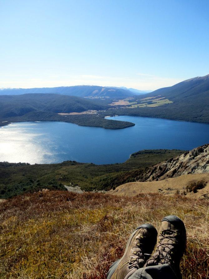 Lake Rotoiti from Pinchgut Track
