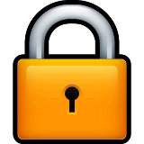 a padlock graphic