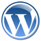 The Shiny Blue WordPress Logo