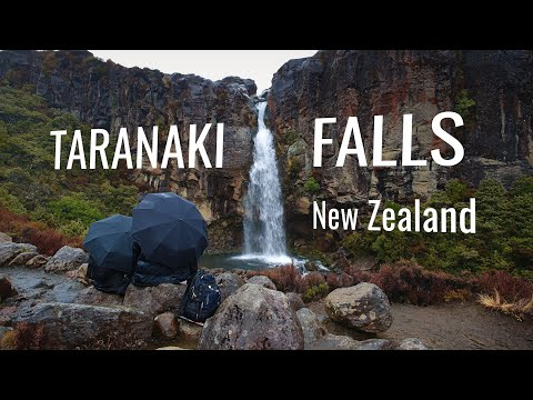 TARANAKI FALLS - Tongariro National Park, New Zealand