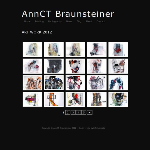 Art page from AnnCTBraunsteiner.com