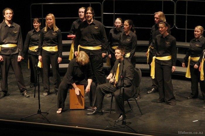 Belle a Cappella perform at Sounds Excellent! 2010