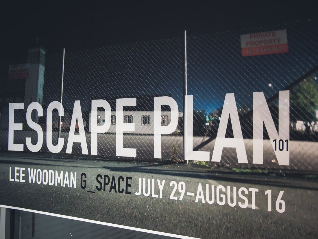 Escape Plan 101 poster