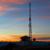 Inwood Lookout, Tasman, NZ at dusk