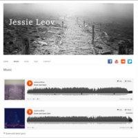 Screenshot of jessieleov.com