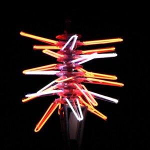 Neon Sculpture - Light Nelson 2014