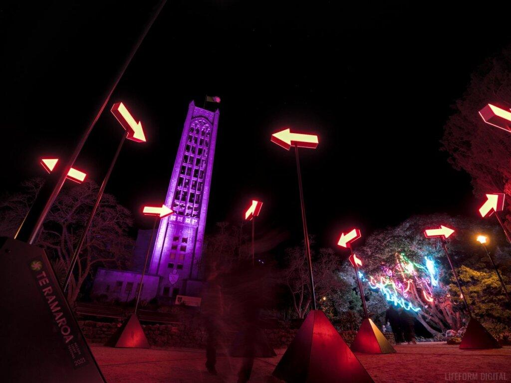 Te Ramaroa 2021 NOWHERE installation by Angus Muir