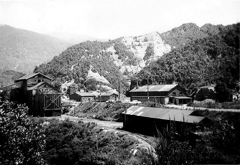 Blackball miners' bathhouse