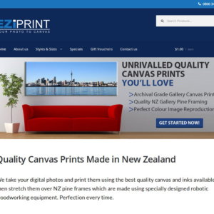 WordPress E-Commerce: Canvas Prints