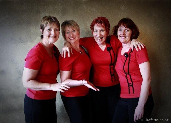 a cappella quartet