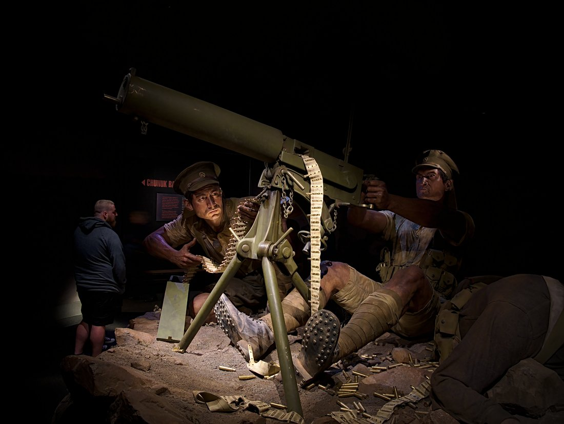 The Scale of our War exhibition - Carkeek Gunners