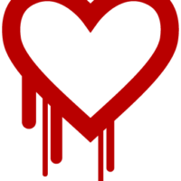 The Heartbleed Bug logo