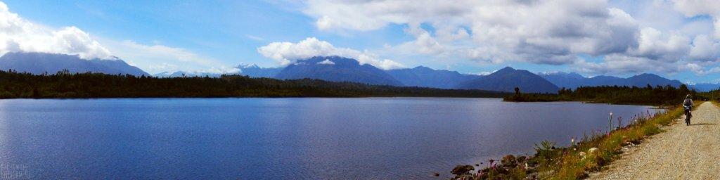 Kapitea Reservoir on the West Coast Wilderness Trail
