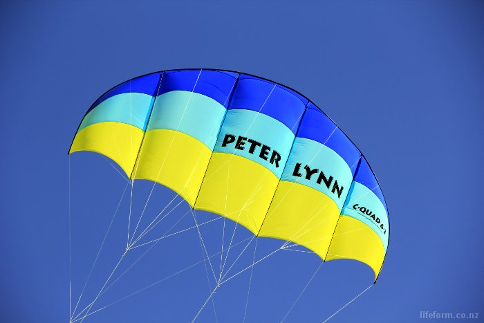 Peter Lynn Kite in action