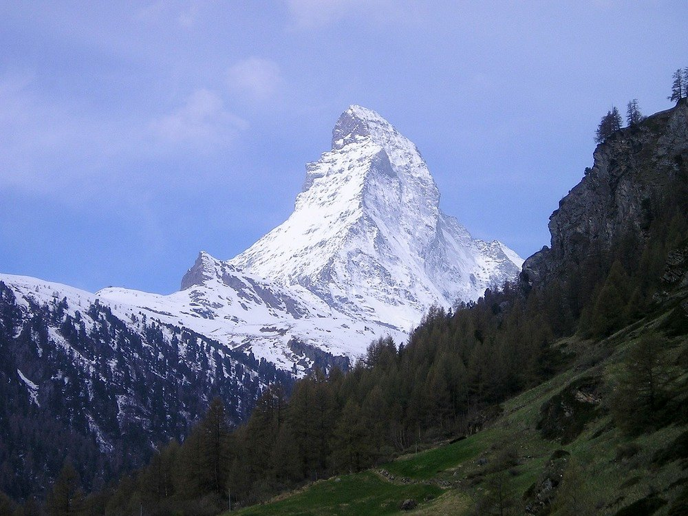The Matterhorn as a kind of visual metaphor