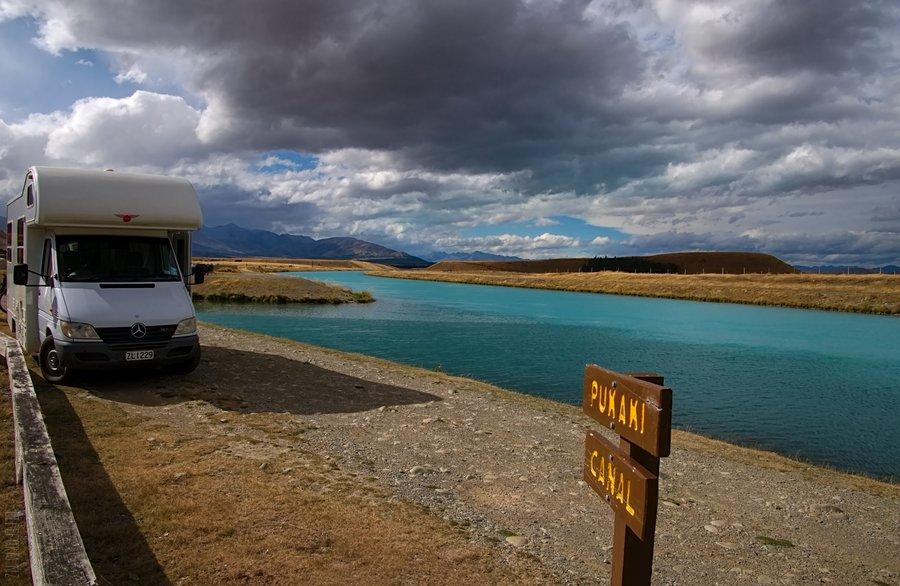 Pukaki Canal, McKenzie District