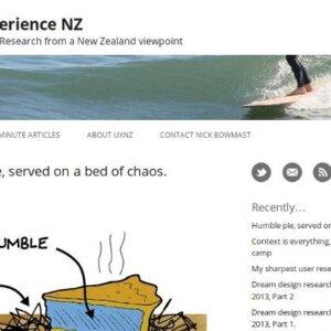 UXNZ Website