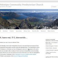 Wakatipu Community Presbyterian Church website